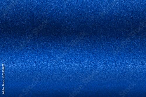 Fotografía  Ultramarine blue metallic glitter background for elegance rich luxury holiday design