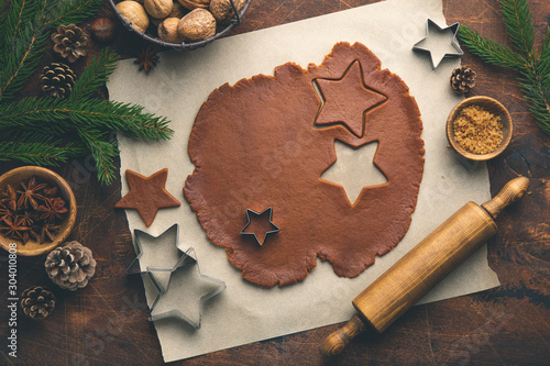 Photo  Christmas and New Year bakery