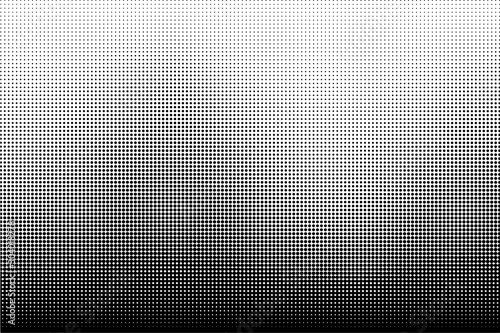 Fotografía Vertical gradient halftone dots background