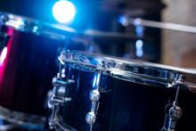 Drums Conceptual Image. Picture Of Drums Retro Vintage Instagram Picture.