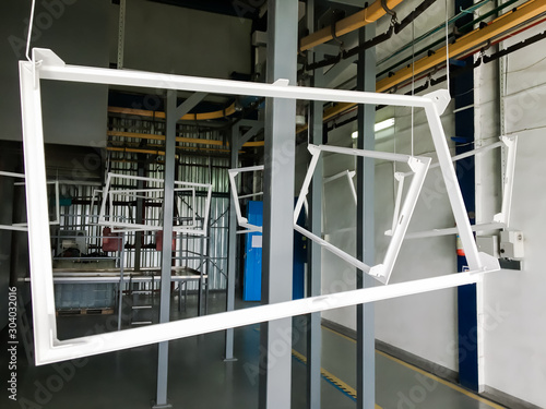 Fototapeta  Powder coating line