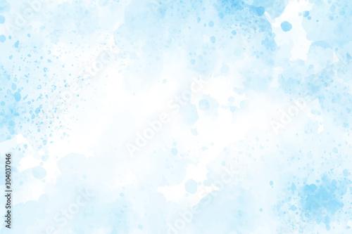 Photo  blue watercolor splash background eps10 vectors illustration