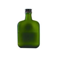 Cognac Brandy Whiskey Whisky Bottles Blank Unlabeled For Illustration.