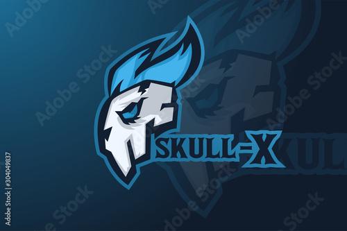 Skull Gamer esports Mascot Logo