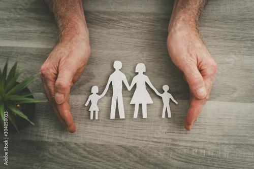 Obraz Concept of life insurance - fototapety do salonu