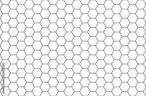 Obraz Formes hexagonales, nids d'abeilles  - fototapety do salonu