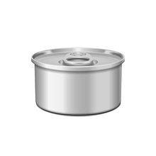 Low-profile Tin Can With Opene...