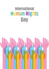 illustration of International Human Rights Day.