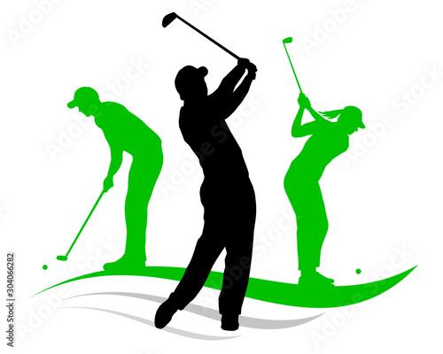 Obraz na plátně Golf sport - 2