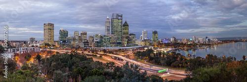 panorama of city of Perth