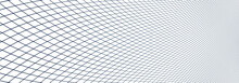 3d Low Poly Mesh Surface Vector Abstract Background, Dimensional Lattice Artistic Illustration.