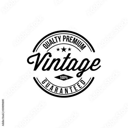 Fotografía  Vintage typography for t-shirt print