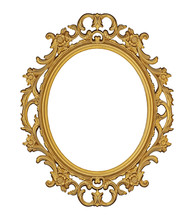 Golden Frame For Paintings, Mi...