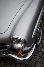 Detail Of Old Car