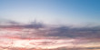 canvas print picture clouds sky sunset, beautiful horizon. background