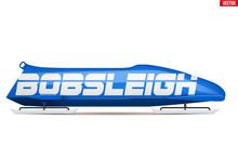 Bobsleigh Sport Symbol. Classi...