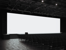 Conference Hall Mockup Screen