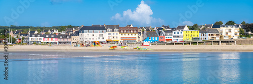 Morgat in Brittany, panorama of the beach in summer Fotobehang