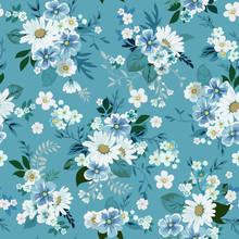 Floral Fashion Print Design Wi...