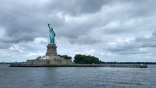 Statue Of Liberty In New York. USA