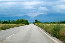 Scenic Road Into The Storm Clo...