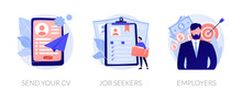 Job Searching. Employment Serv...