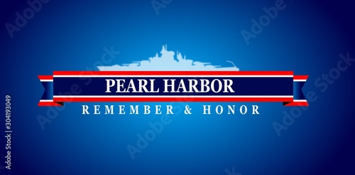 Fotografia, Obraz Pearl Harbor Remembrance, background