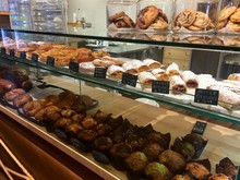 Pastry Sweets Display In Windo...