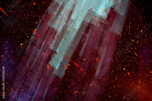 abstract red background - 304206248