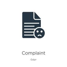 Complaint Icon Vector. Trendy ...