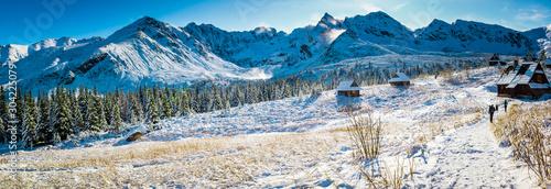Fototapeta Tatr - Hala Gasienicowa, zima 2019 obraz
