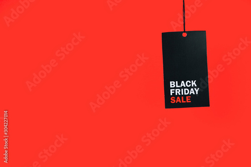 black Friday sale fifty percent discount,  sale tags Fototapeta