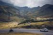 Transfagarasan Road (Fagaras mountains, Romania, Europe)