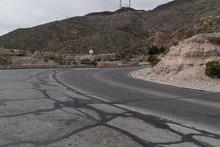 The El Paso, Texas Scenic Overlook Road, Franklin Mountain.