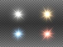Sparkling Color Lights Set On ...