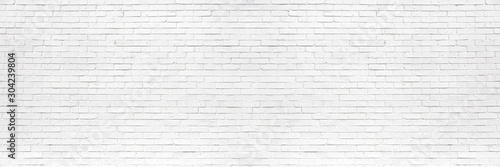 obraz lub plakat white brick wall may used as background