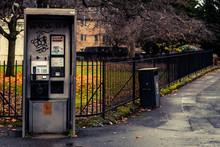 Vandalised Public Telephone