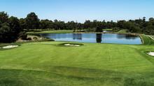 Golf Course Fairway, Water Haz...