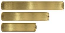 Gold Or Brass Brushed Metal Pl...