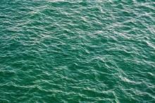 Turbulent Ocean Water Ripples
