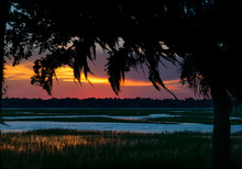 Sundown From Lady's Island