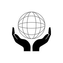 Hand Handshake Icon Vector Design Symbol