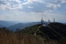 鰐塚山からの眺め