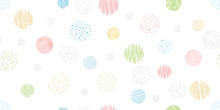 Cute Geometric Background. Sea...