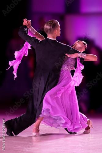 Fotomural Ballroom Dance Couple