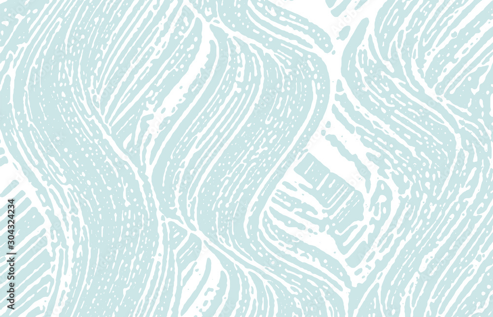 Fototapety, obrazy: Grunge texture. Distress blue rough trace. Bewitch