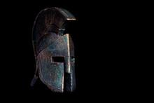Ancient Spartan Bronze Helmet ...