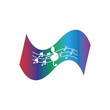 Music Note Symbols Logo And Ic...