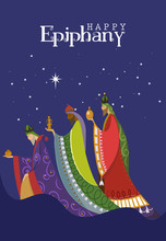 Vector Illustration Of Epiphan...