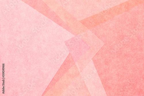 Fototapeta  和紙 ピンク テクスチャ アブストラクト 正月 背景